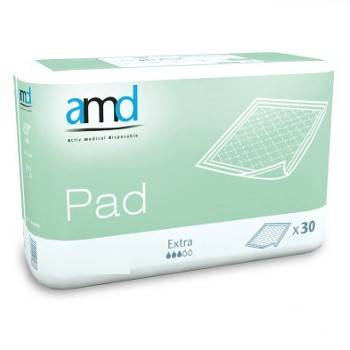 AMD Pad Extra - 9 paquets de 30 protections 60 x 40 cm