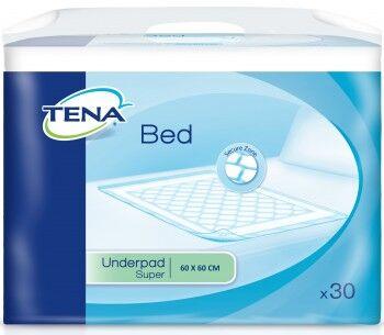 Tena Bed Super 60 x 60 cm - 1 paquet de 30 protections