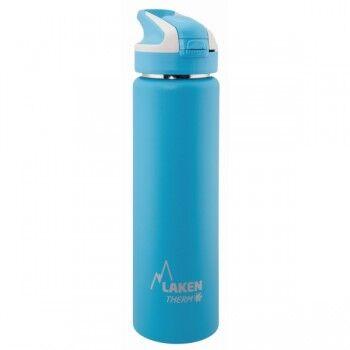 Laken Gourde inox isotherme 0.75l bouchon paille à clapet de Laken Couleur Turquoise