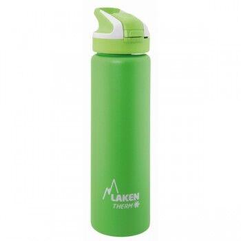 Laken Gourde inox isotherme 0.75l bouchon paille à clapet de Laken Couleur Vert