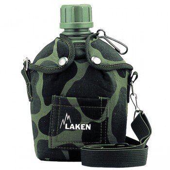 Laken Gourde militaire légère en plastique camouflage armée 1 litre