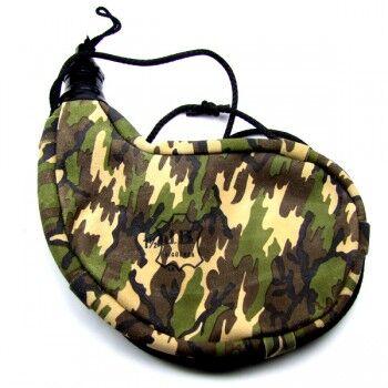 Jesus Blasco Gourde camouflage souple en peau, courbée, intérieur latex 1.5 litre