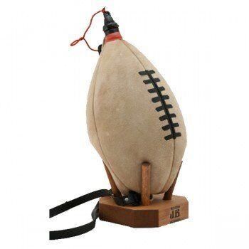 Jesus Blasco Gourde cuir Ballon de Rugby à la régalade, 4 litres