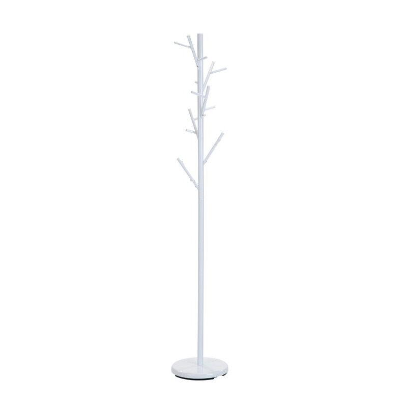 SO INSIDE Porte-manteau arbre en métal blanc Raften