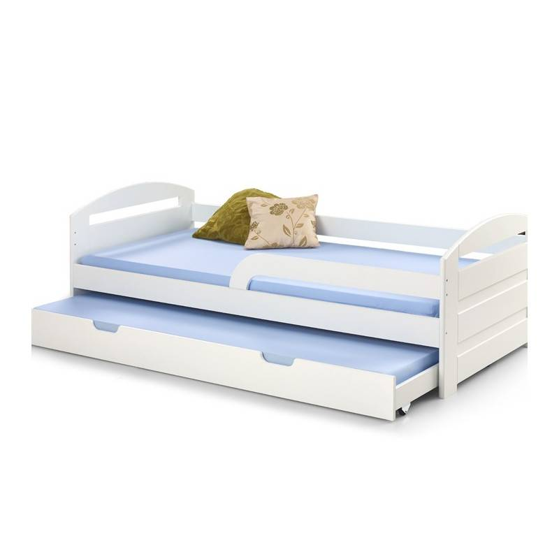 SO INSIDE Lit tiroir enfant blanc 200x90 cm Lina