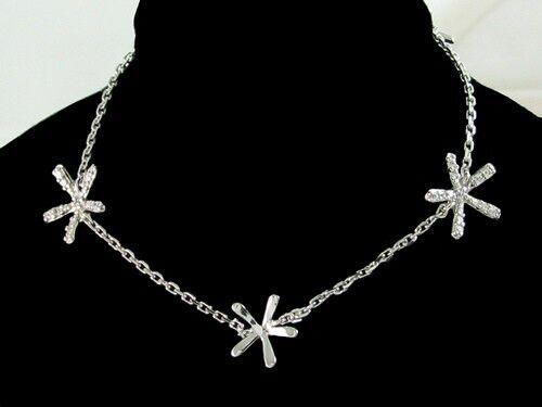 superbijoux Bracelet femme enfant 3 étoiles cz cristal en argent - 18cm