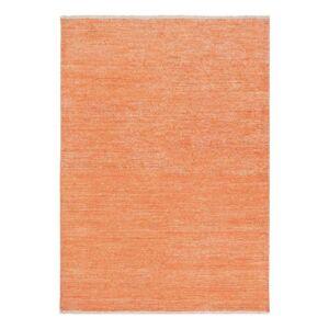 Pure Tapis moderne orange Uni Ligne Pure viscose