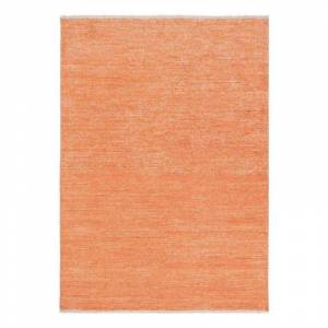 Pure Tapis moderne orange Uni Ligne Pure viscose