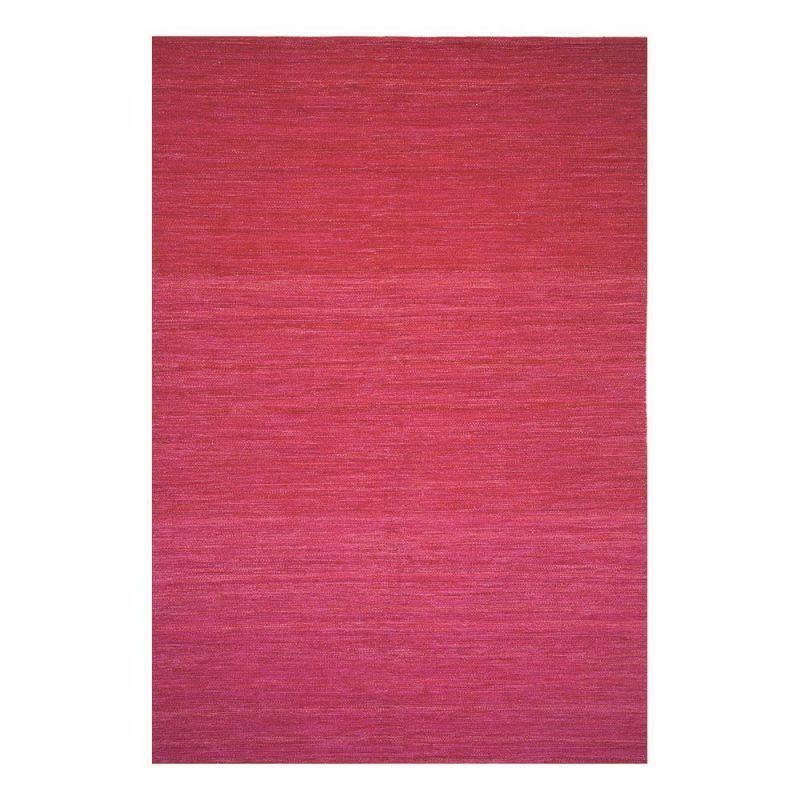 Pure Tapis Moderne Flatweave Rouge - Ligne Pure