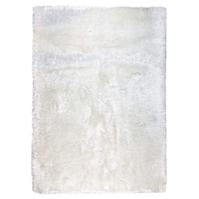 Pure Tapis shaggy Adore Ligne Pure blanc tissé main