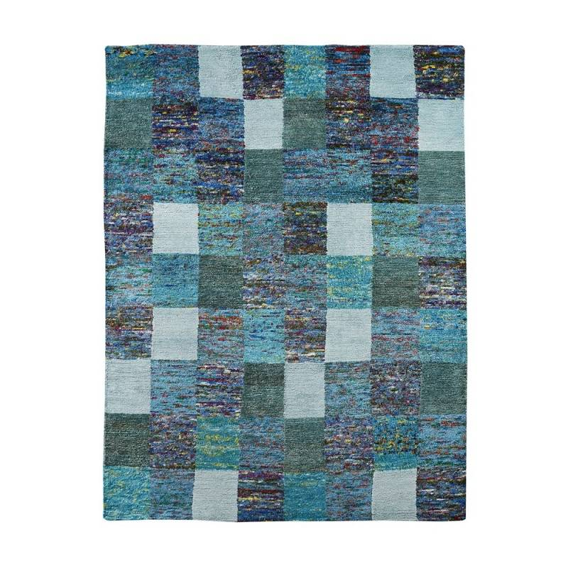 Home Spirit Tapis bleu Home Spirit SARI