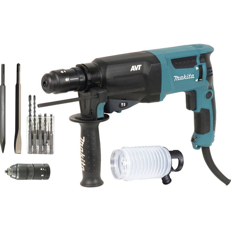 makita Perfo-burineur Makita HR2631FTX4 SDS Plus