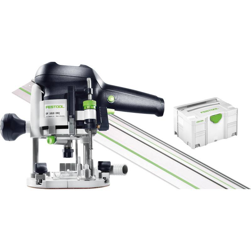 Festool Défonceuse Festool OF 1010 EBQ-Set 6-8mm - 1 rail
