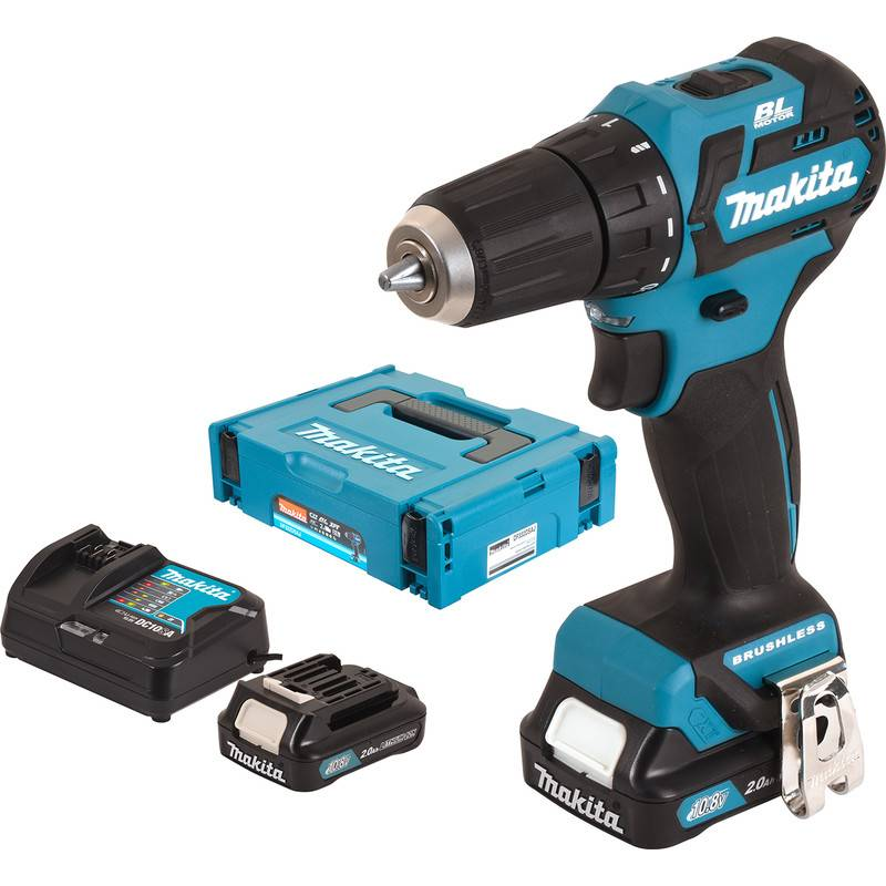 Makita Perceuse visseuse sans fil Makita DF332DSAJ 10,8V Li-ion