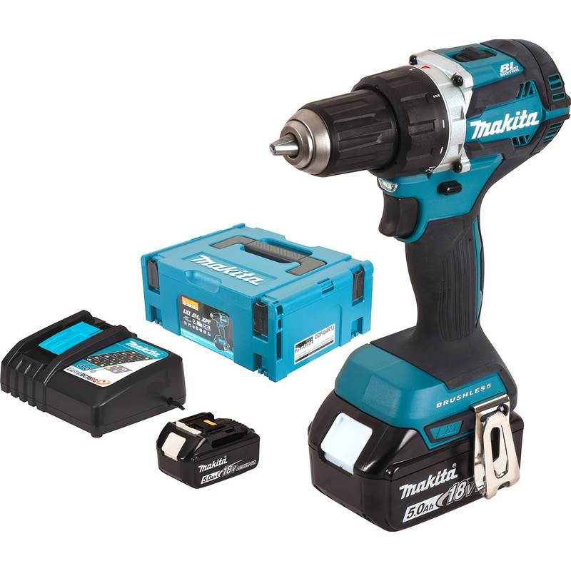 Makita Perceuse visseuse sans fil Makita DDF484RTJ 18V Li-ion