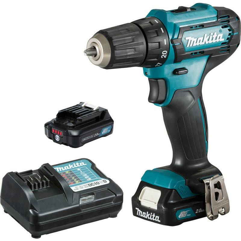 Makita Perceuse visseuse sans fil Makita CXT DF333DWAE 12V - Li-Ion 2Ah