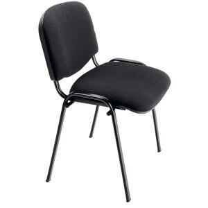 No name Chaise de réunion - Tissu - Noir - Publicité