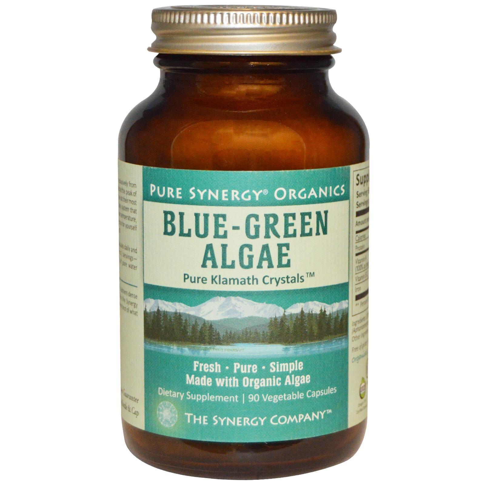 Synergy Company The Synergy Company, Bio algues bleu-vert, 90 Caps Veggie