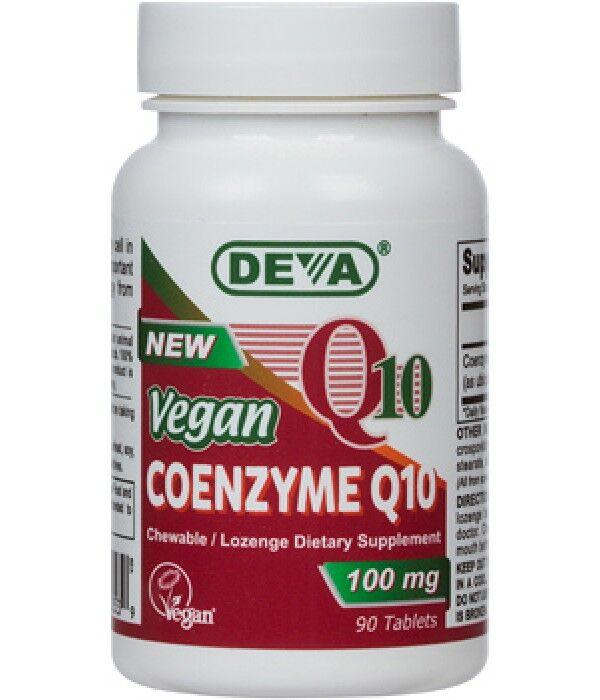 Deva Vegan Coenzyme Q10 100 mg (90 Tablets) - Deva