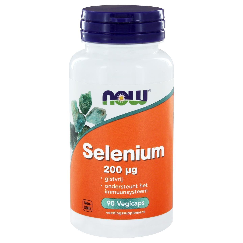 Now Foods, Sélénium minéral essentiel 200 mcg, 90 Vcaps