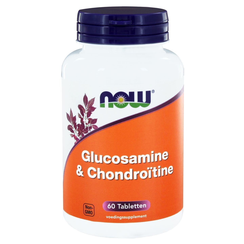 Now Foods, Glucosamine & chondroïtine, 60 comprimés