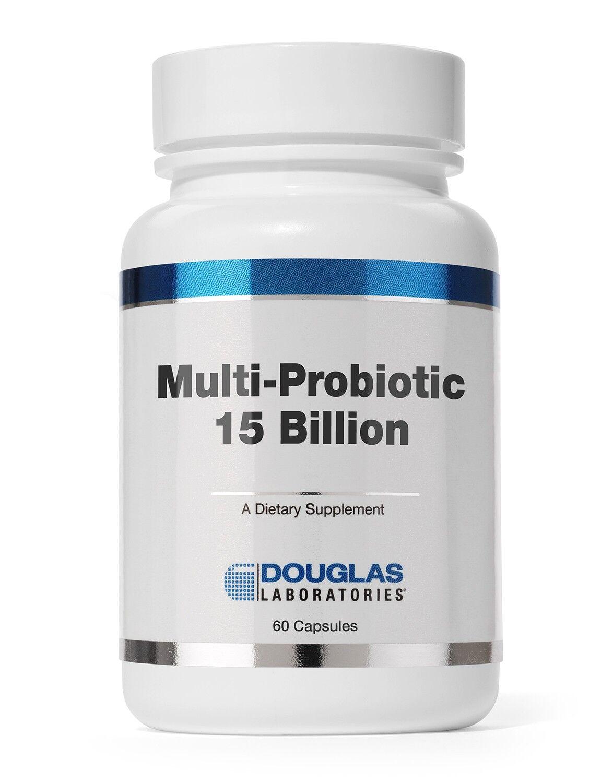 Douglas Laboratories, Multi-Probiotic 15 milliards, 60 Capsules