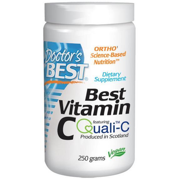 Doctors Best Best Poudre de vitamine C (250 g) - Doctor's Best
