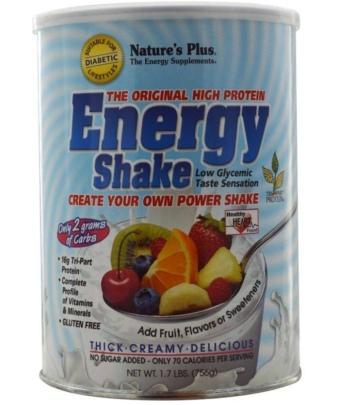 Nature's Plus Energy Shake - The Original High Protein (756 grams) - Nature's Plus