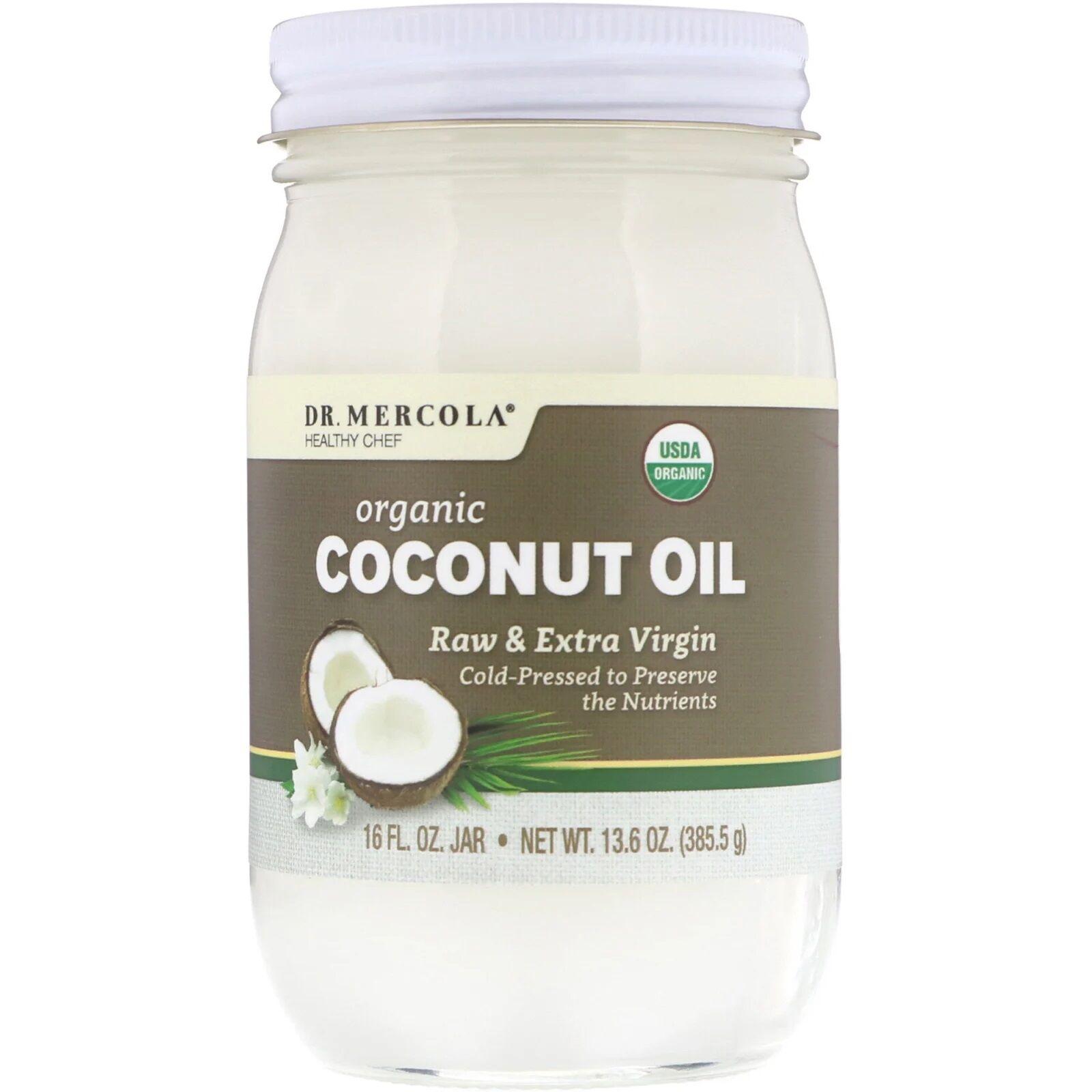 Dr. Mercola, Fresh Shores, huile de coco Extra Vierge, 16 oz liq (475 ml)