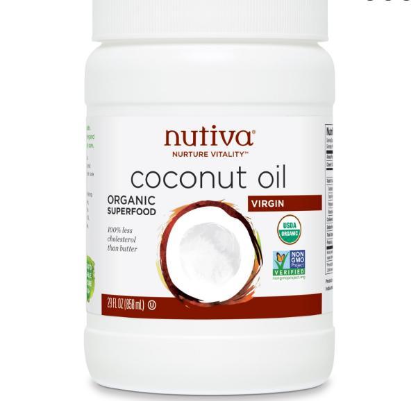 Nutiva, huile de coco Extra Vierge bio, 29 fl oz (858 ml)