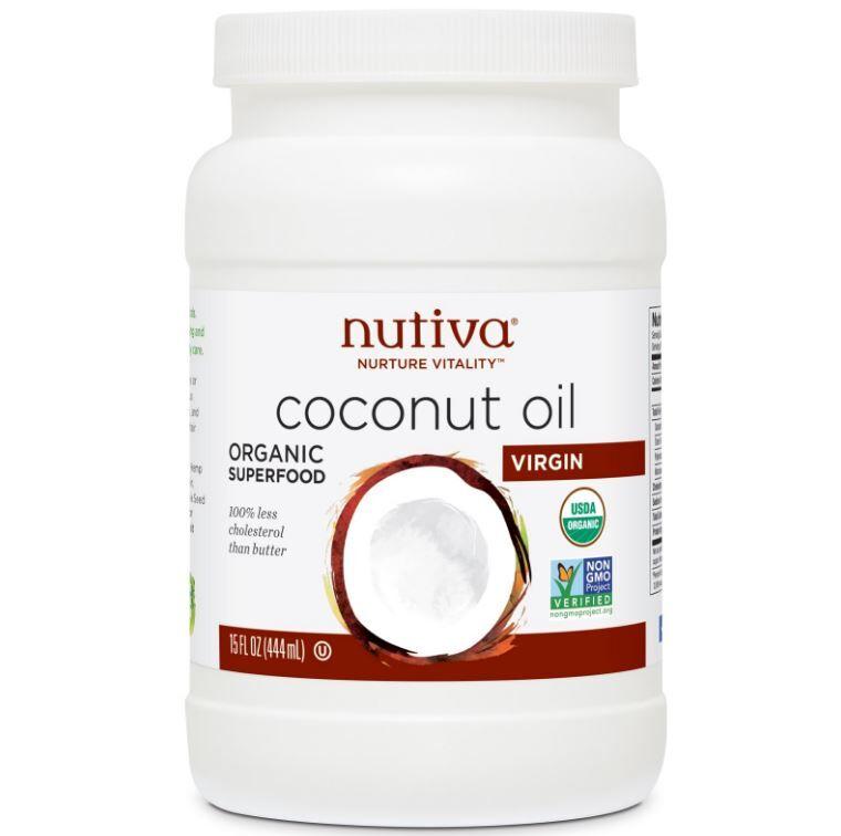 Nutiva, huile de coco Extra Vierge bio, 15 fl oz (444 ml)
