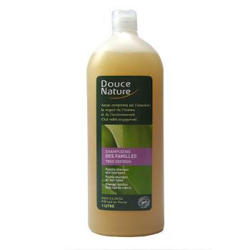 Douce Nature Shampoing bio familial,Sève de Bouleau, 1l, Douce Nature
