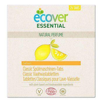 Ecover Tablette lave-vaisselle écologique, 25 tablettes, Ecover