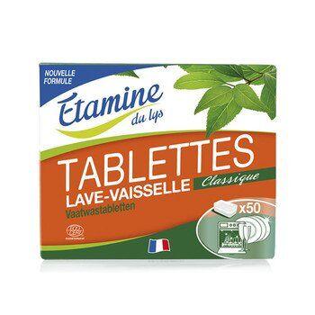 Etamine du Lys Tablettes lave-vaisselle classique, x50, Etamine du Lys