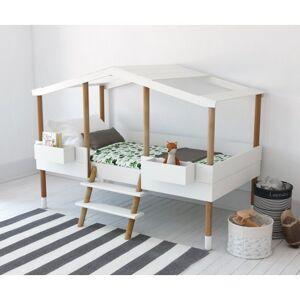 BELENUS KIDS Lit cabane avec bacs de rangements PILOTI - Bln kids - Publicité