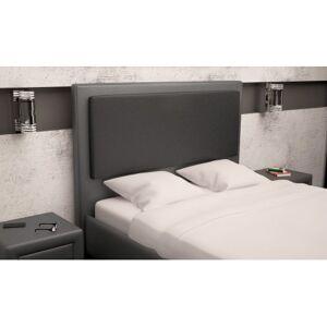 Linea deco Tête de lit design en PU coloris gris noir L160cm TERI - Linea deco - Publicité