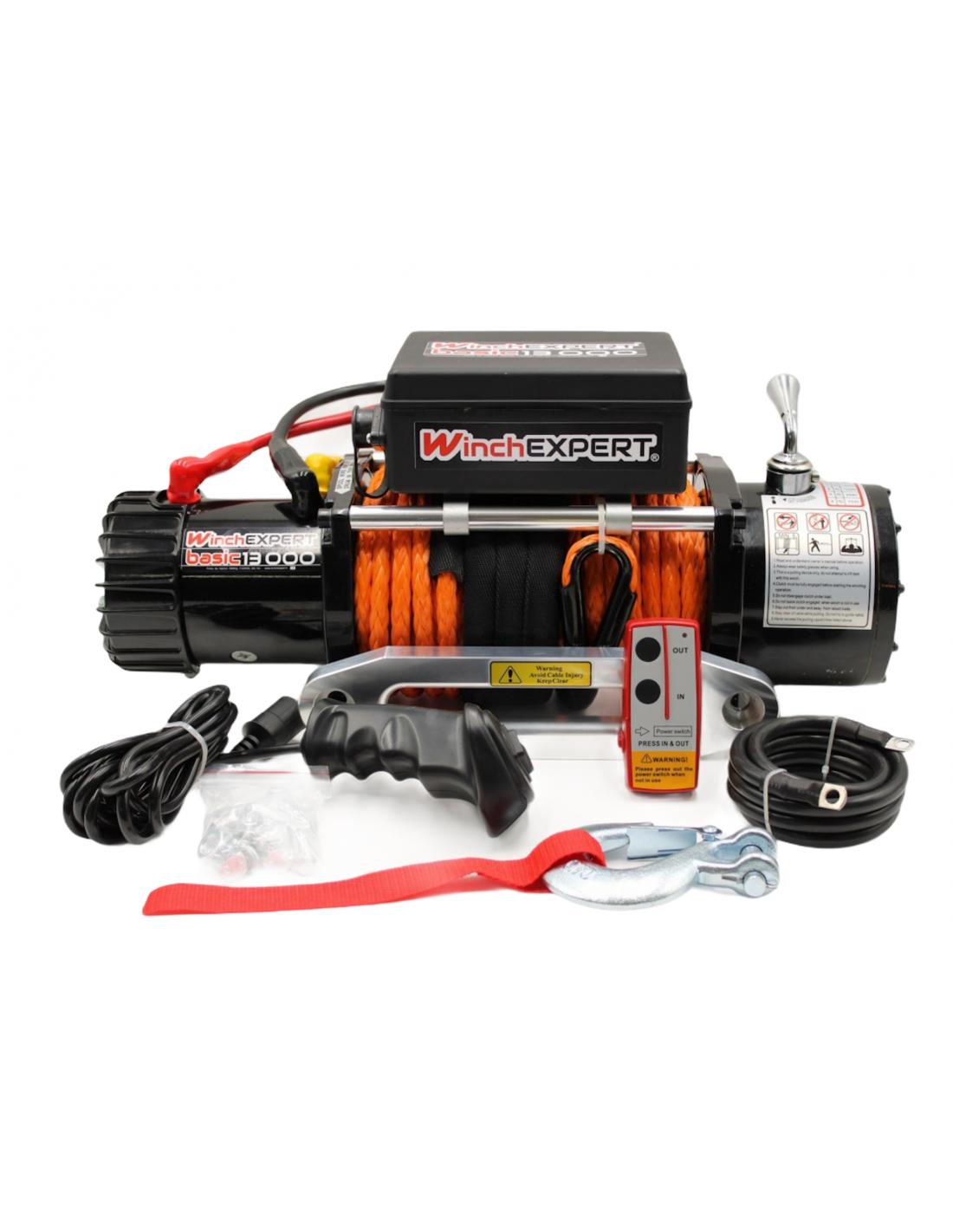 WinchExpert Treuil Electrique WinchExpert 5907 Kg 12v corde et telecommande