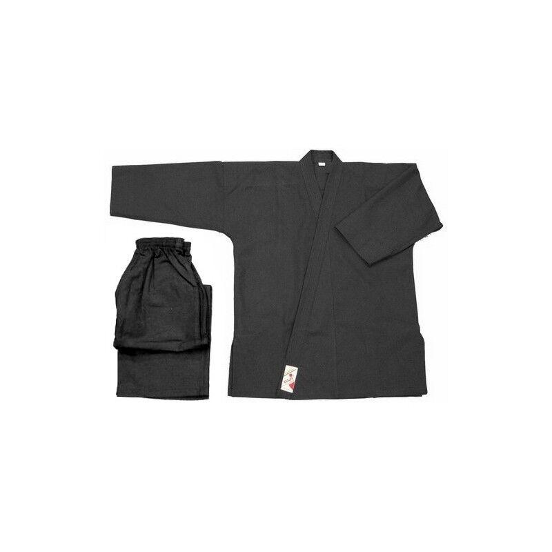 Fujifilm Kimono noir - Vo phuc noir initiation coton 8 oz