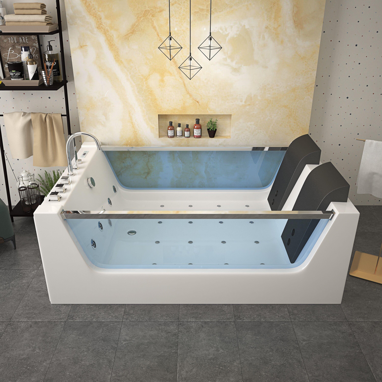 Uéva Design IHLONA balnéo double vitrée - Blanc