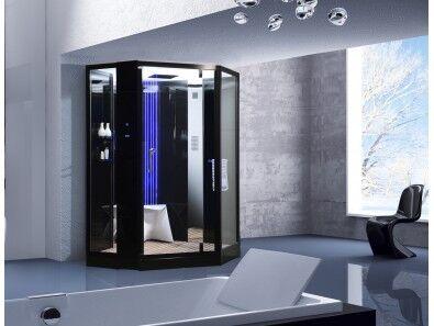 Uéva Design Twin shower Luxe, douche deux personnes Noir