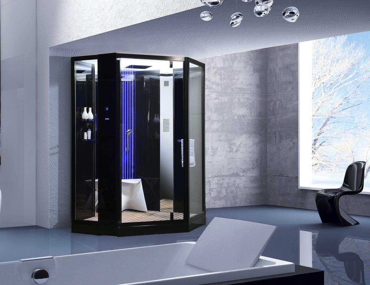 Uéva Design Twin shower Luxe, douche deux personnes - noir