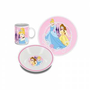 Set déjeuner 3 pièces Princesses Disney? - Publicité