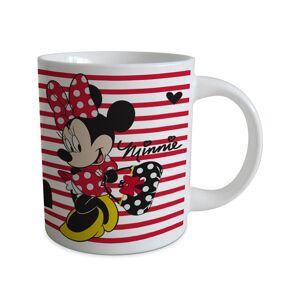 Mug Minnie? rayé rouge - Publicité
