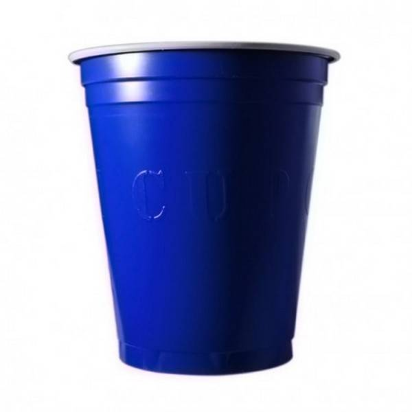 Unique 20 Gobelets Americain Bleu 53cl - Original Cup
