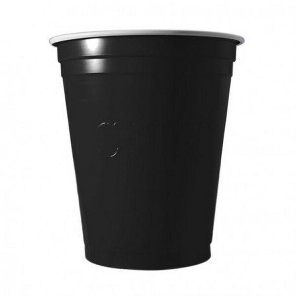 Unique 20 Gobelets Americain Noir 53cl - Original Cup