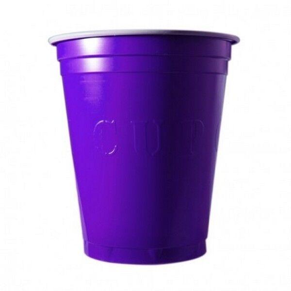 Unique 20 Gobelets Americain Violet 53cl - Original Cup
