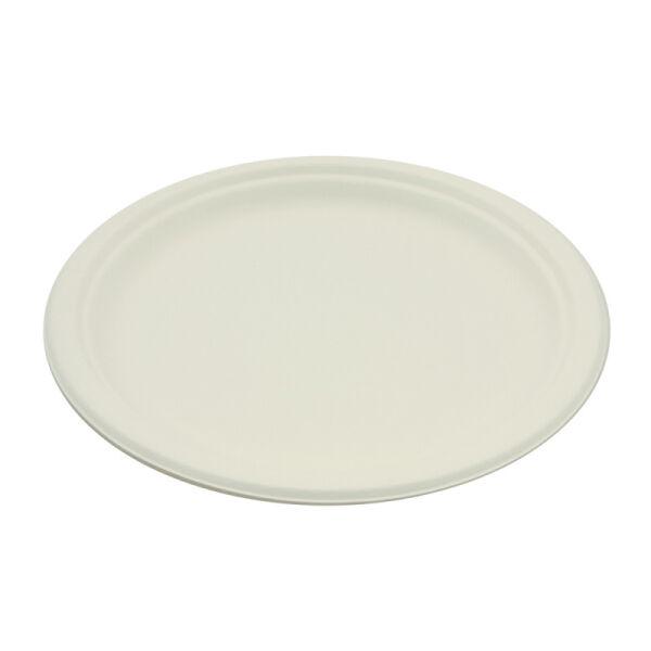 Be Pulp 400 assiettes rondes rigides biodégradables 26 cm