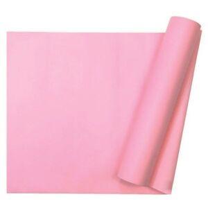 Chemin de table intissé rose - 29 cm x 10 m