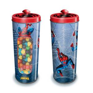 Boite à bonbons en métal Spiderman? - Publicité