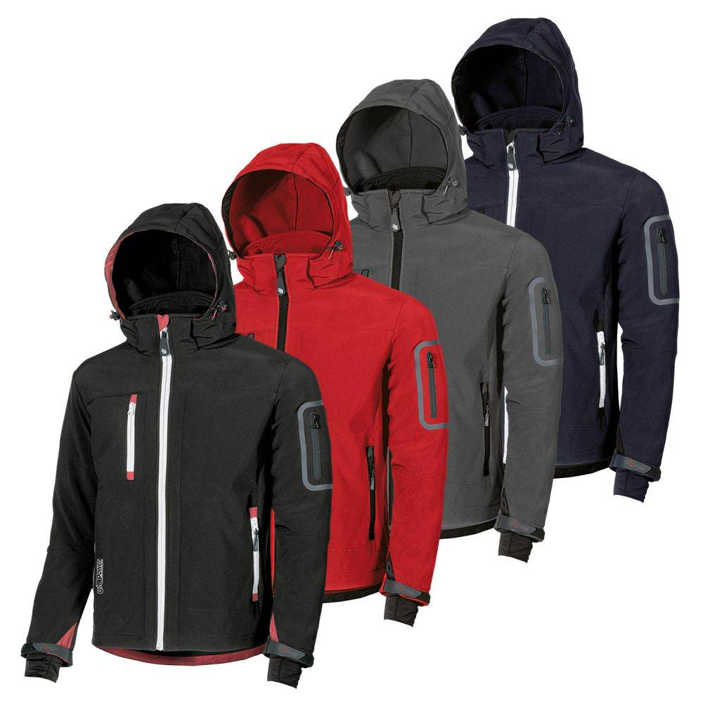 U-Power Veste Softshell pro doublée déperlante METROPOLIS U-Power